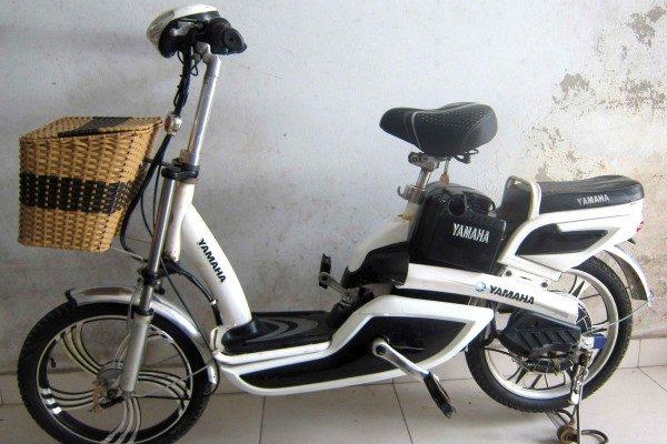 Xe đạp điện yamaha cũ,xe dap dien yamaha cu