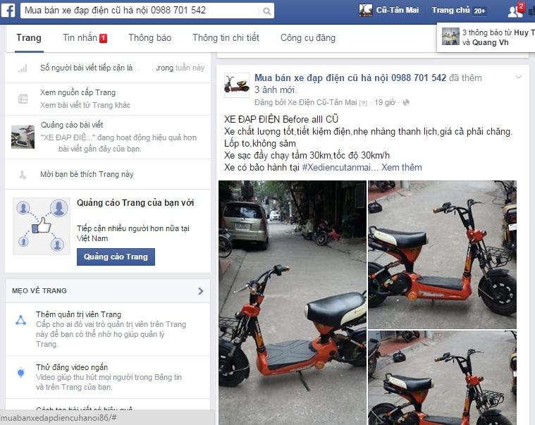 Tìm hiểu kỹ thông tin khi mua xe đạp điện cũ tại Hà Nội