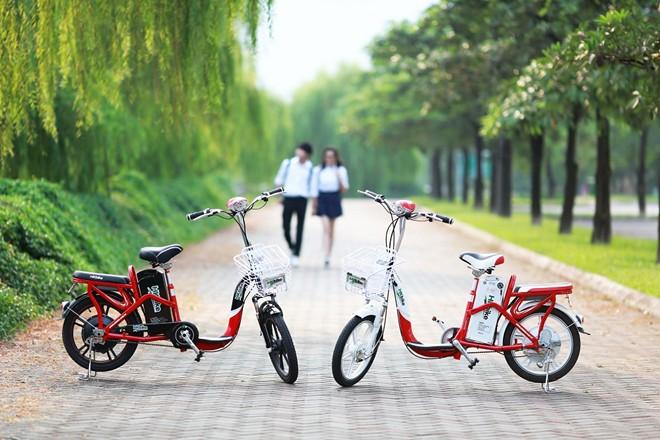Ưu điểm khi mua xe đạp điện chạy pin