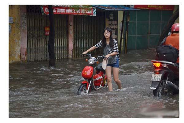 Chọn mua xe đạp điện chống nước