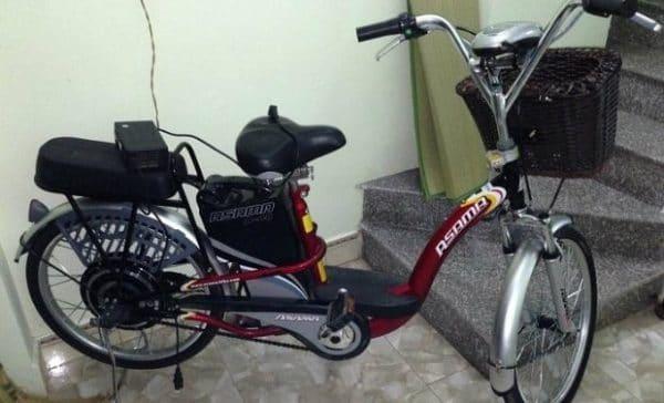 Ắc quy xe đạp điện bị nóng
