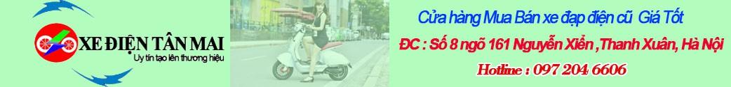 Mua bán xe đạp điện cũ tại Hà Nội 097.204.6606