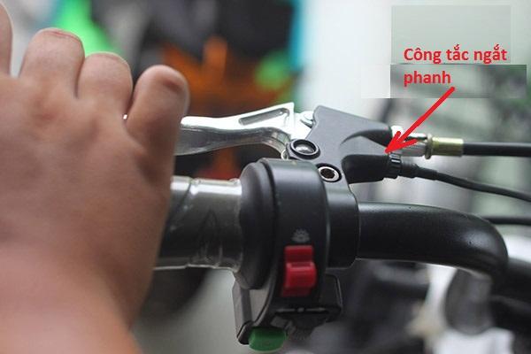 Công tắc ngắt phanh - Xe đạp điện Ga không chạy