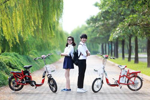 Chọn mua xe đạp điện cũ phù hợp vóc dáng