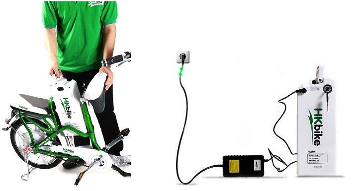 Hướng dẫn sạc pin xe đạp điện đúng cách
