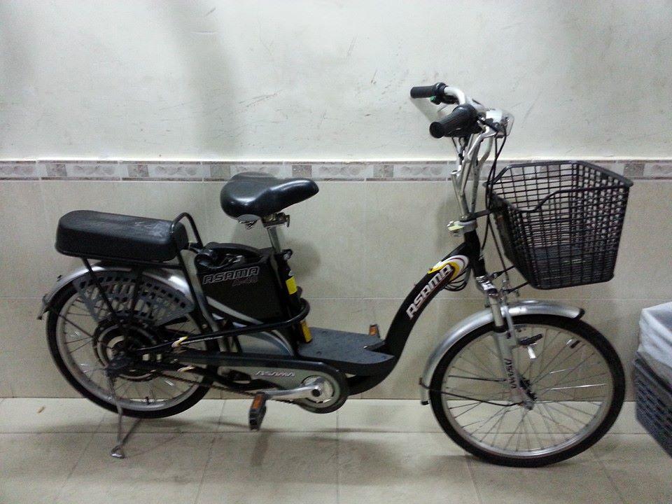 Xe đạp điện asama cũ