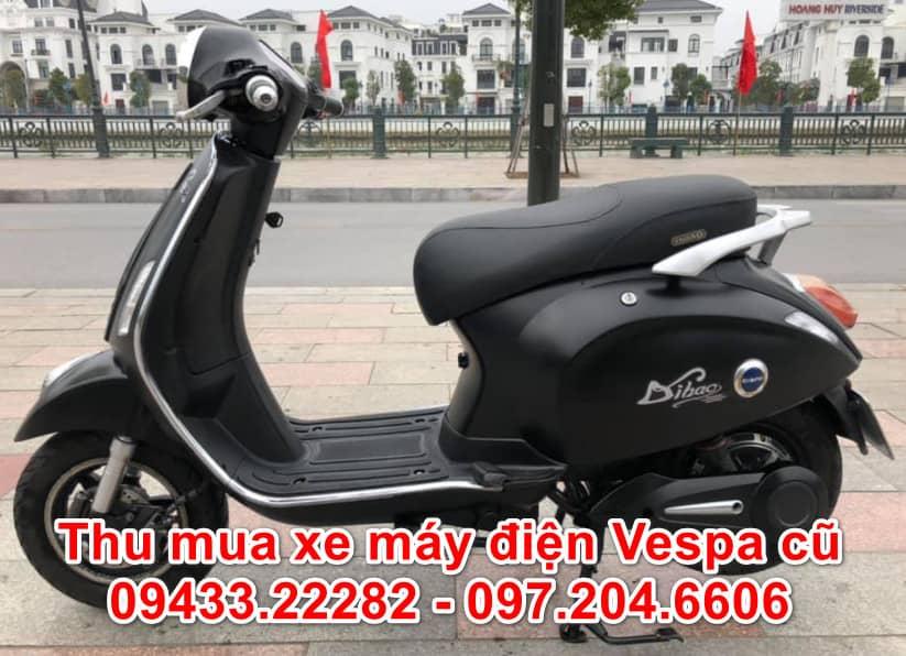 Thu mua xe máy điện Vespa cũ giá cao